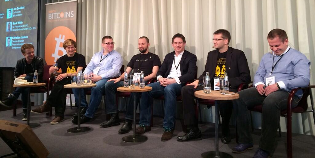 Johnston at #bitcoinconf in Berlin, February 12, 2014.